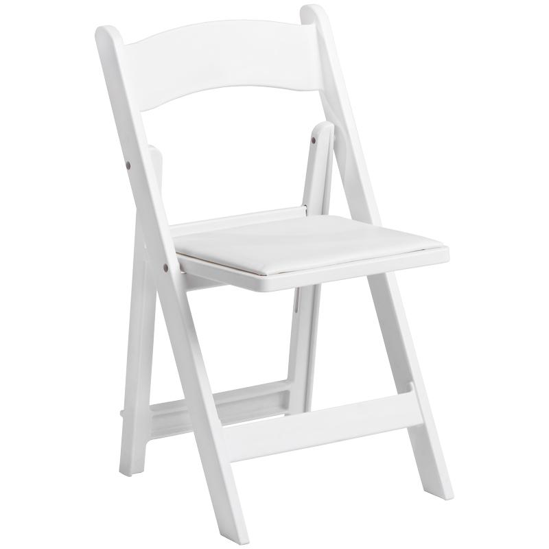 White Garden Folding Chairs